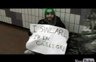 Broke and Homeless Ivy Leaguer goes Viral