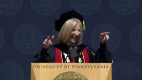 Penn President Amy Gutmann's musical commencement speech (VIDEO)