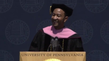 Yes, John Legend sings at UPenn Graduation (VIDEO)