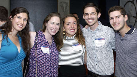 LA Penn alumni & undergrads come out to Summer Happy Hour (photos)