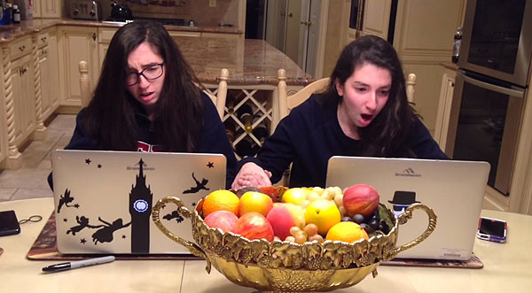 2 Twin Sisters, 1 EPIC reaction to Penn Acceptance Letter (must-watch video)